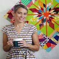 Victoria Findlay y sus Quilts